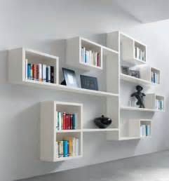 Another room install floating shelves that wrap right around a corner