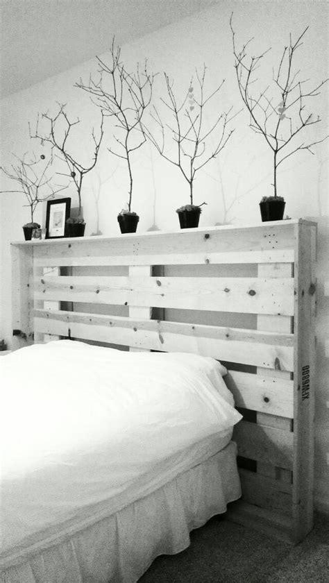 cabeceros de palets sencillos pero elegantes  tu cama  love palets