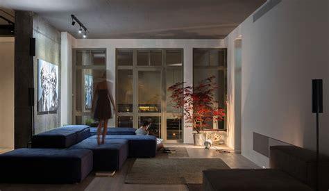 lofts design modern loft apartment in kyiv open space minimalist design