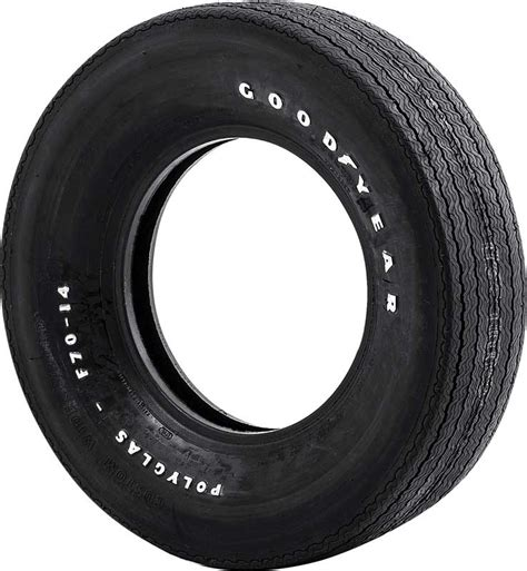 Raised Letter Tires 1930 2007 All Makes All Models Parts Gyf7014 F70 14 Goodyear 2 2 Polyglas Tire With Custom