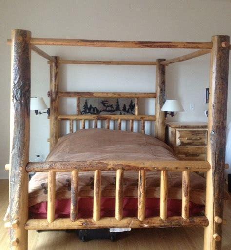 bradley s utah log beds utah rustic call of the