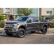 2017 Ford Super Duty With Leveling Kit