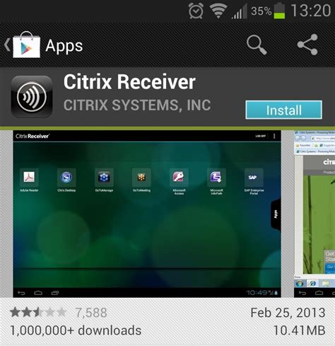 citrix receiver android apps 187 of florida