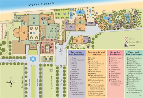 Hotel Breakers Layout | breakers resort myrtle beach property map the best