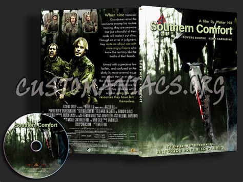 southern comfort dvd southern comfort dvd covers labels by customaniacs id