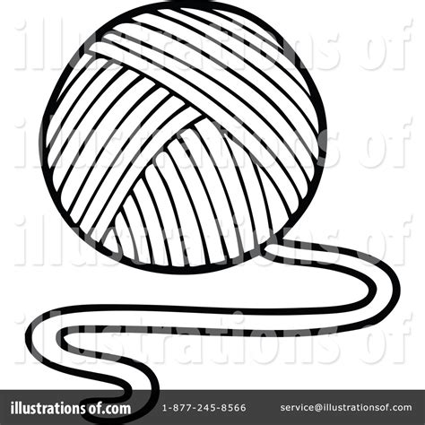coloring pages for yarn yarn clipart 1266777 illustration by visekart of yarn