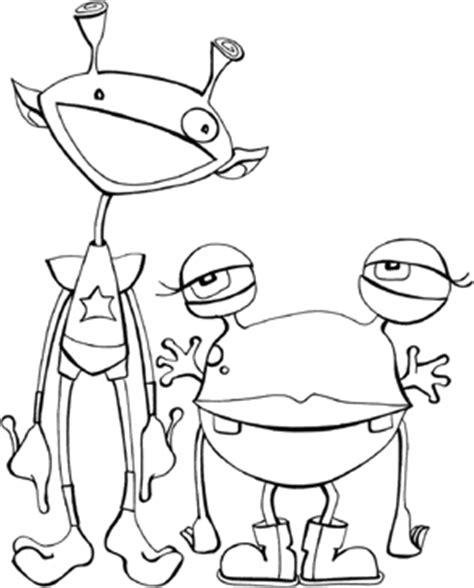 disegni da colorare bambini spazio luna pianeti marziani
