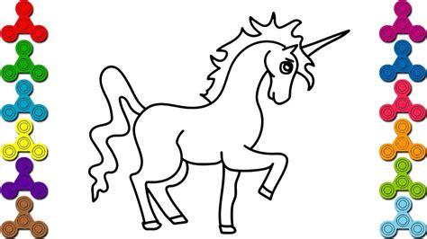 imagenes kawaii para dibujar facil los colores en ingles c 243 mo dibujar unicornio faciles