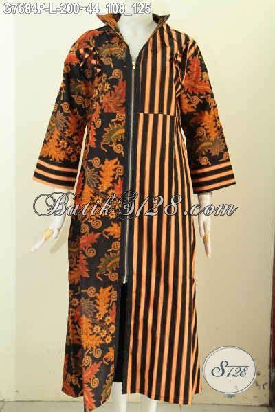 Gamis Wanita Kombinasi model baju batik wanita gamis kombinasi paling populer