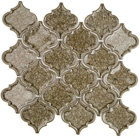 Coupons For Kitchen Collection Roman Collection Spanish Olive Arabesque Glass Tile