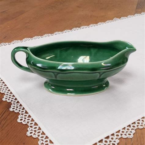 gravy boat made in usa mount clemens pottery gravy boat made in usa petal