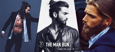mens mun hairdo the man bun hairstyle buns for men