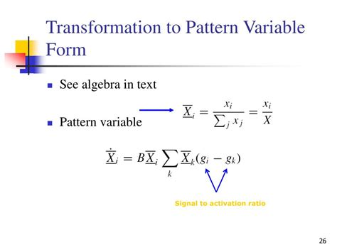 Pattern Variables And Paradigm | ppt adaptive resonance theory powerpoint presentation