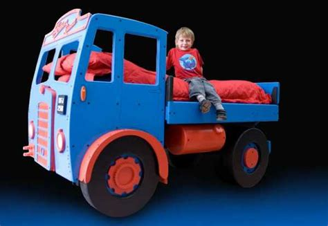 novelty childrens beds make bedtime a smooth ride with fun furniture collection