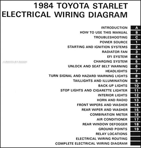 starlet wiring diagram get free image about wiring diagram