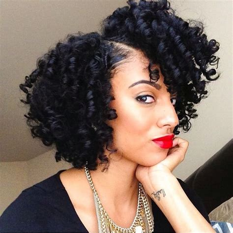 bouncy hair for black women 27 short hairstyles and haircuts for black women of class