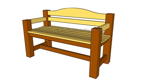 plans for outdoor benches plans for wooden bench pdf woodworking