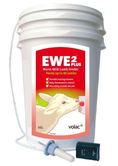 Warm Milk Feeder volac ewe 2 plus feeder volac