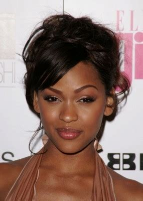 pictures of soft african american hair that has been flex rodded relaxed hair updos