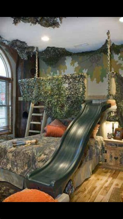 brave and strong impression camo bedroom ideas for boys