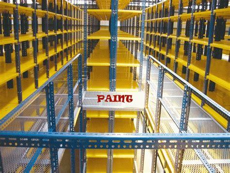Rak Besi Siku Imw atap baja ringan rangka baja ringan murah rack susun untuk pabrik dan gudang rack multiguna