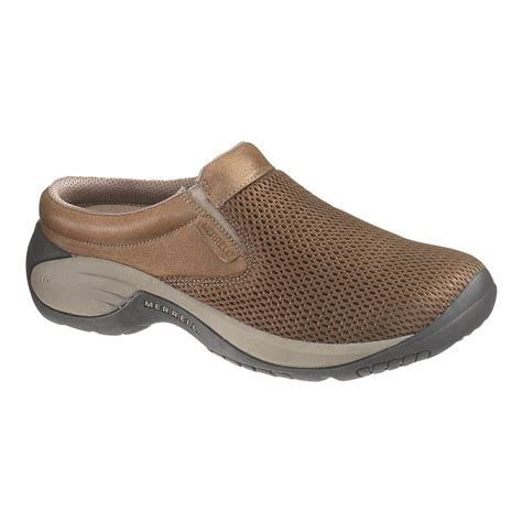 mens merrell encore bypass earth slip on clogs shoes
