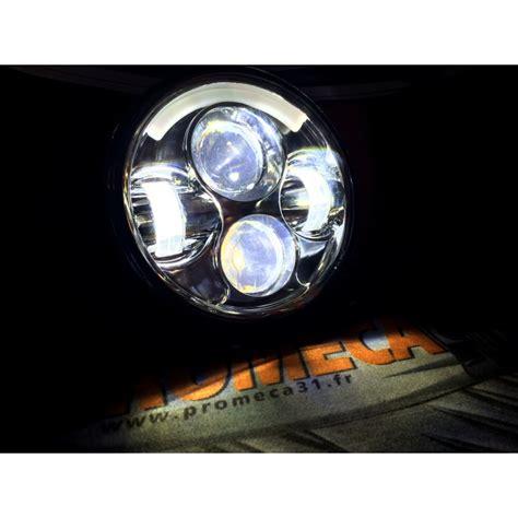 eclairage led moto phare led 65w moto 5 quot 3 4 feux de jour promeca 31