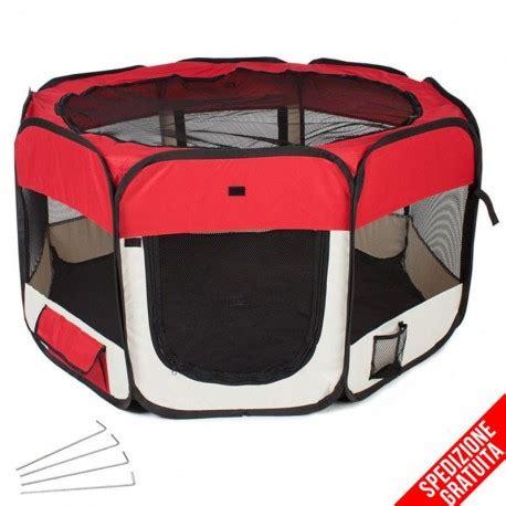 gabbie per cani da interno recinto per cuccioli e cani da interno pieghevole colore rosso