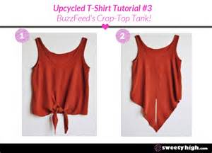 How To Make A T Shirt Out Of Paper - how to make a tank top out of an t shirt tutorial