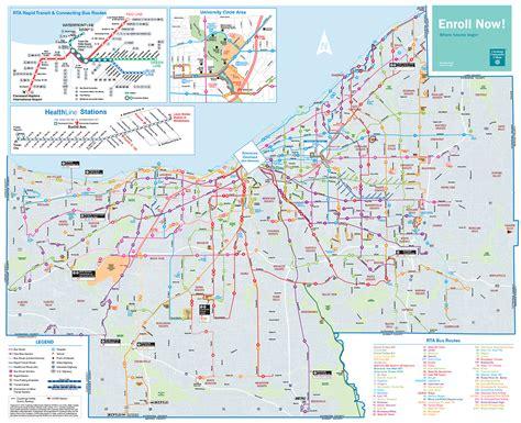 maps cleveland cleveland rta map adriftskateshop