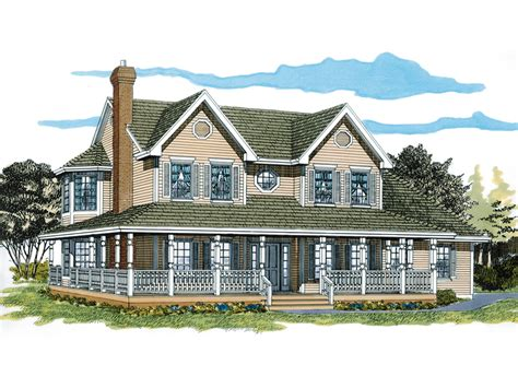 single story open floor plans with wrap around porch luxamcc