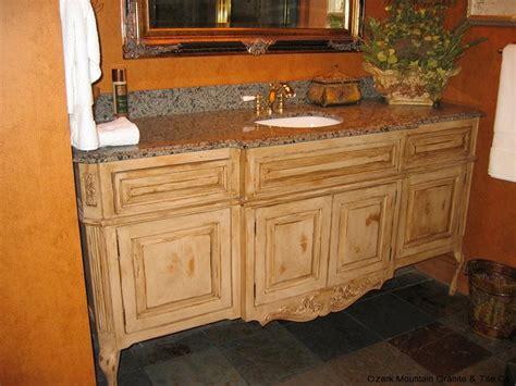 Granite Countertops Springfield Mo by Bathroom Granite Countertops Gallery