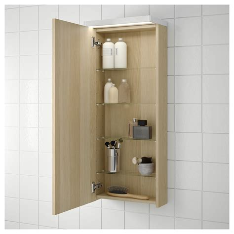 Godmorgon Wall Cabinet by Godmorgon Wall Cabinet With 1 Door White Stained Oak
