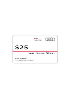 Audi Gift Card - audi collection catalog gift cards