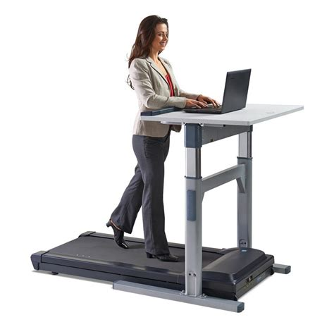 Tr5000 Dt7 Treadmill Desk Workplace Partners Work Desk For