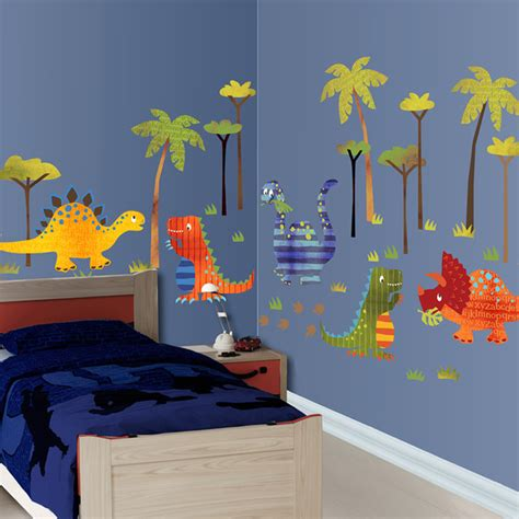 dinosaur wallscape decal contemporary wall decor