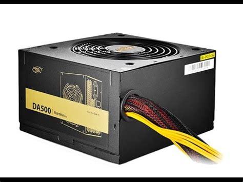 Power Supply Deepcool 400w deepcool da500 power supply psu unboxing