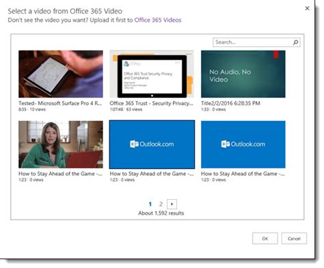 website tutorial embedded microsoft office tutorials embed a video from office 365