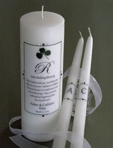 Wedding Blessing Unity Candle Set by Simply Wedding Blessing Unity Candle Set