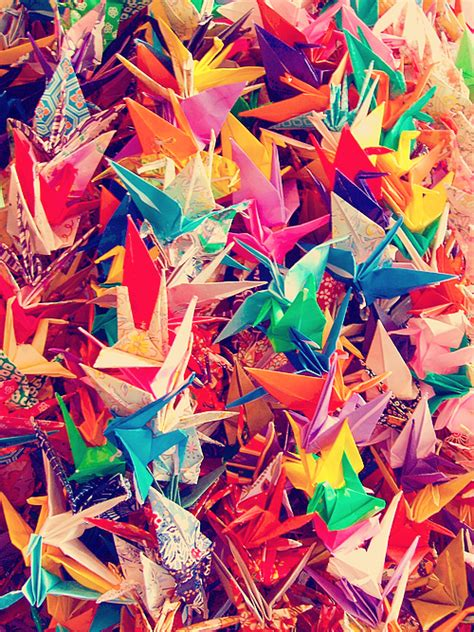 One Thousand Origami Cranes - mette s march 2014