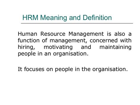 Mba In Human Resource Management In New by Human Resource Management Mba