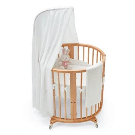 Dunlopillo Baby Small Oval 16 beautiful oval baby cribs for unique nursery decor