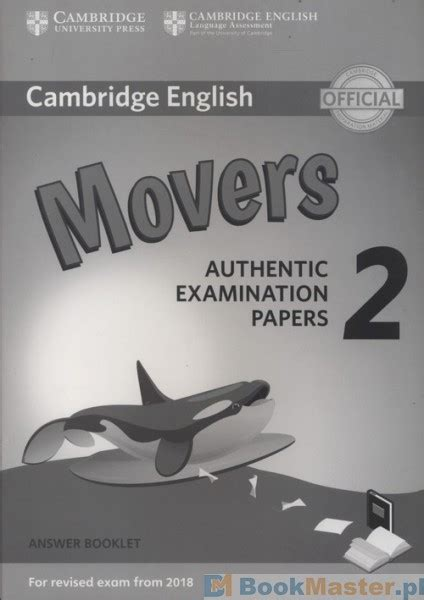 cambridge english movers 8 answer booklet profit24 pl księgarnia internetowa książka cambridge english movers 2 answer booklet w cenie 12 20 zł księgarnia bookmaster