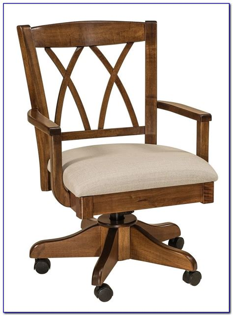wooden rolling desk chair wooden rolling office chair desk home design ideas