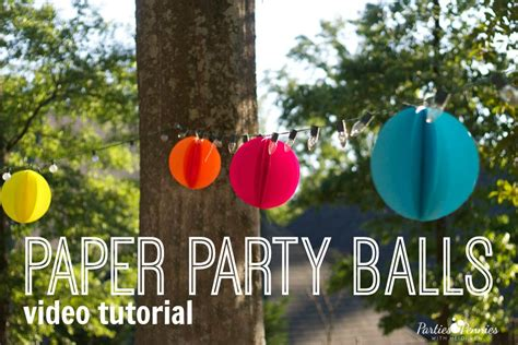 How To Make Birthday Decorations Out Of Paper - how to make birthday decorations out of paper 28 images