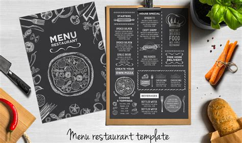 menu card template photoshop 45 menu design projects for creative restaurants