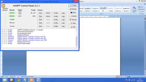 cara membuat blog di wordpress offline cara membuat wordpress offline menggunakan xp beserta