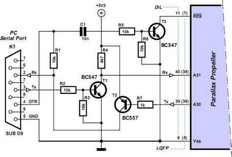 ic programmer circuit diagram programming the propeller ic xtreme circuits