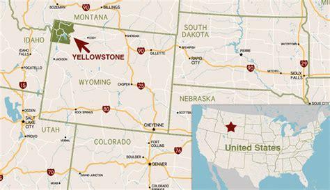 yellowstone national park map usa yellowstone national park caldera 171 kaiserscience