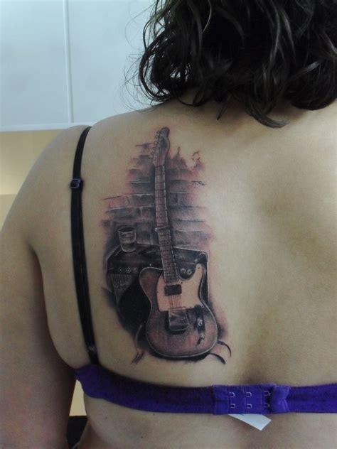 tattoo parlour pmb guitar tattoo by tattooastur on deviantart